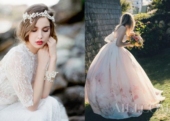 看腻原味新娘头星级梦幻发型让婚礼更加完美