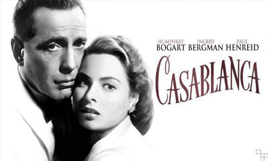 电影《卡萨布兰卡》,又名《北非碟影》