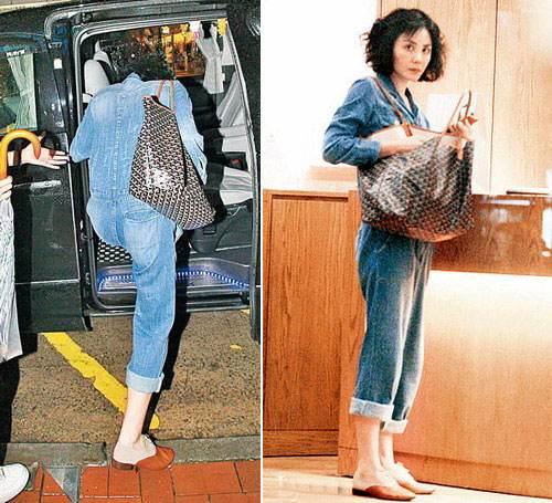 王菲背Goyard包袋