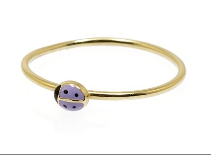 FACCO 小瓢虫戒指 紫色regality ¥1008