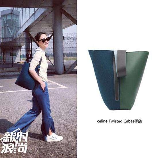 王菲背Celine包包