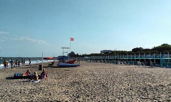 丽都岛的沙滩