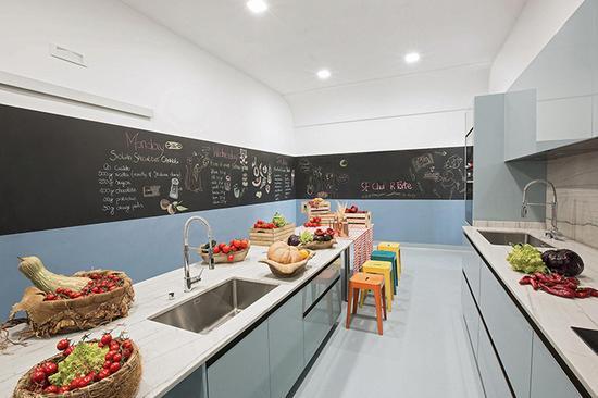 孩子们的私人厨房