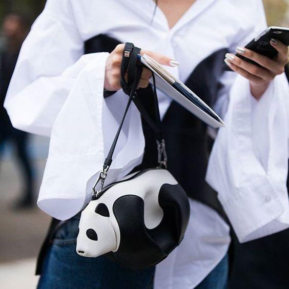 呆萌的熊猫