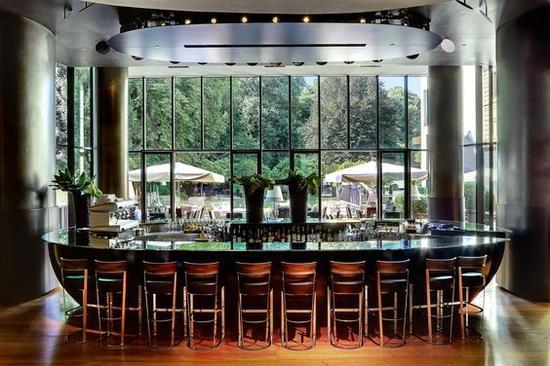 米兰宝格丽酒店温室 图片来源自Architectural Digest