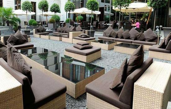 米兰宝格丽酒店花园 图片来源自spazidilusso.it