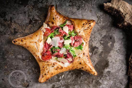 五角星披萨