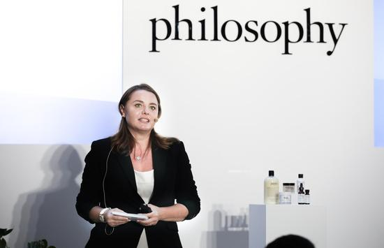 philosophy(肌肤哲理)科研发布负责人Muriel Pujos博士