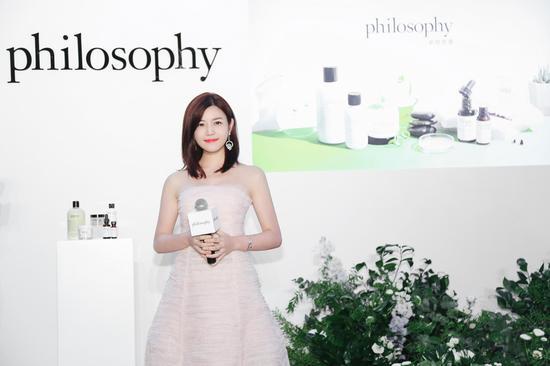 philosophy(肌肤哲理)中国区代言人 陈妍希女士