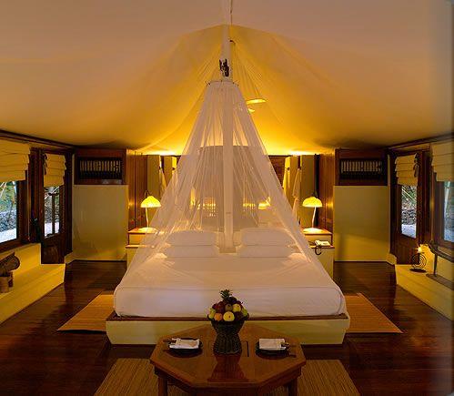 客房卧室内设计 图片来源自amanresorts.com