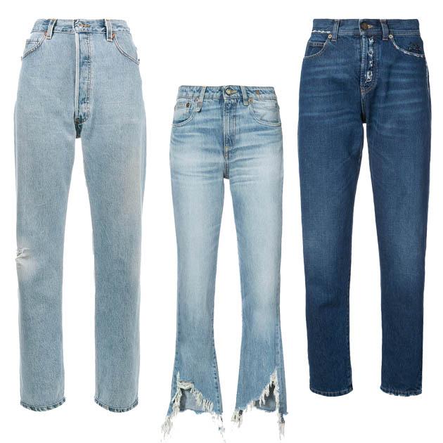 牛仔长裤单品推荐