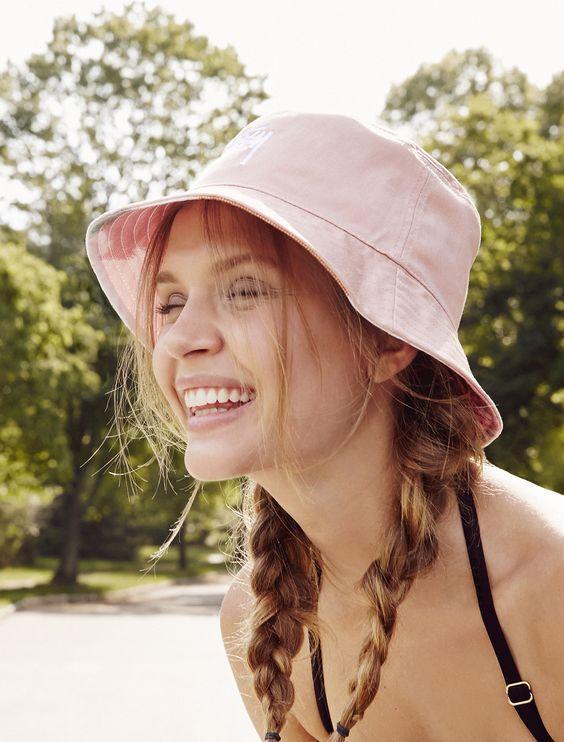 少女范儿的渔夫帽