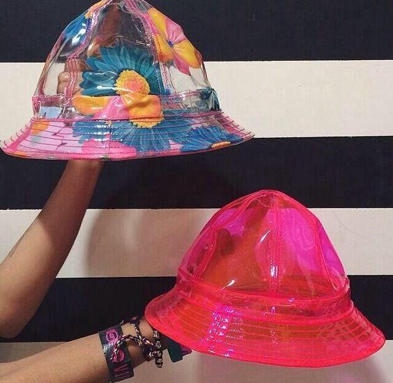 透明款式的渔夫帽