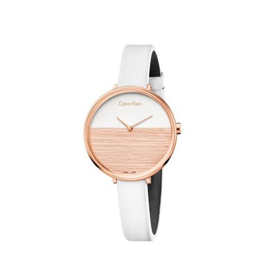 Calvin Klein rise日出系列女士腕表,图片来源于品牌