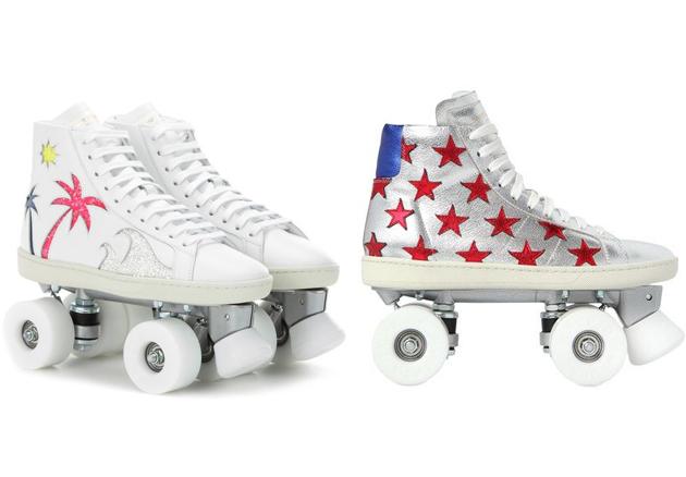 YSL的运动溜冰鞋