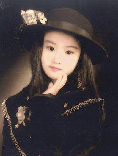 刘亦菲童年艺术照