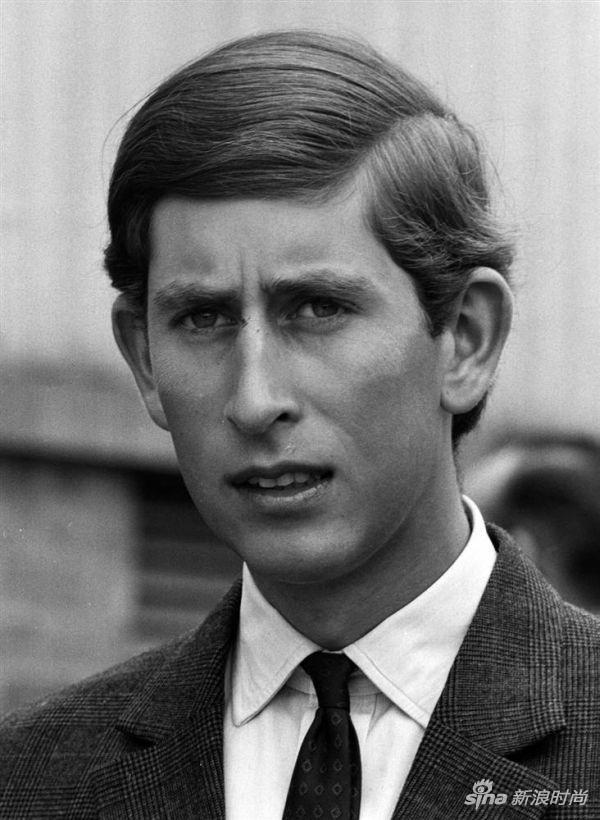年轻的查尔斯王子