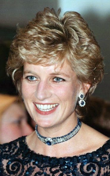 1995年戴安娜在英国威尔士首府Cardiff