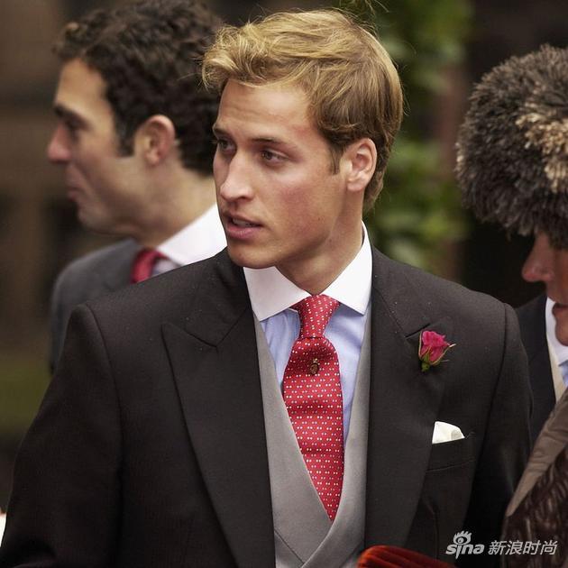 年轻的威廉王子