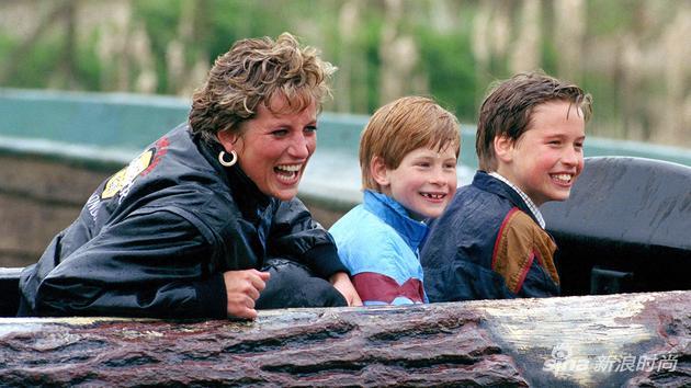 戴安娜和威廉还有哈里