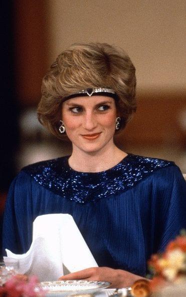 1986年戴安娜在东京