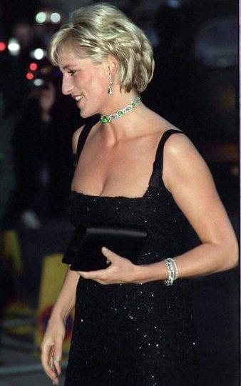 1997年庆祝36岁生日的戴安娜