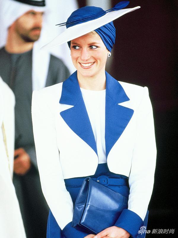 """戴安娜的""""头巾帽"""""""
