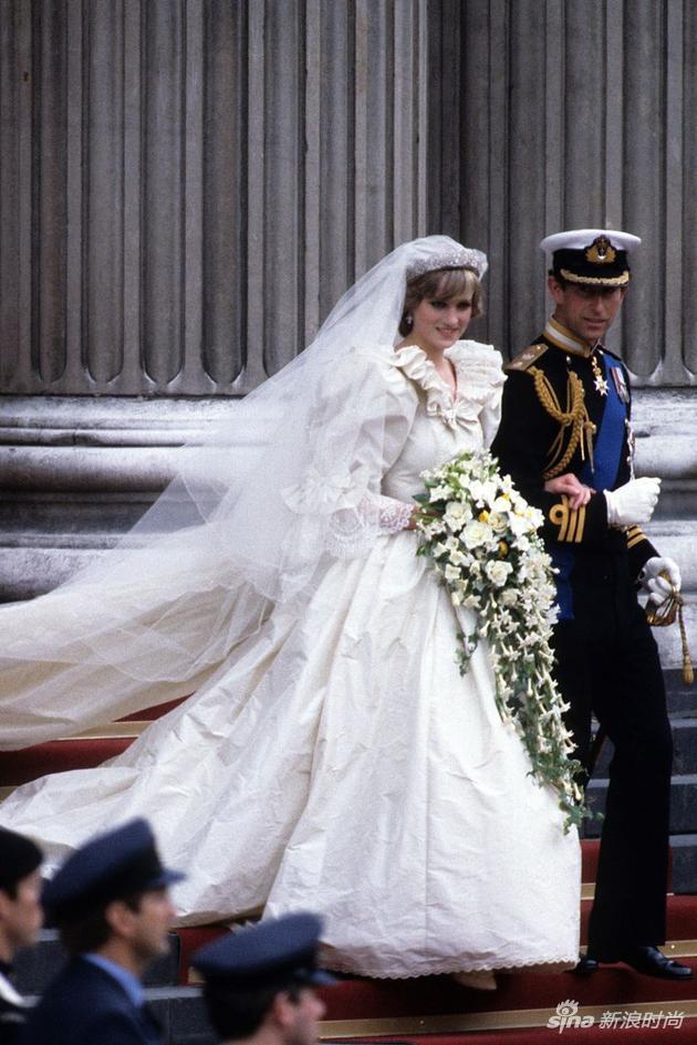 戴安娜的婚纱