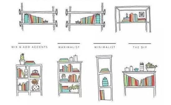 原始的书房橱柜设计