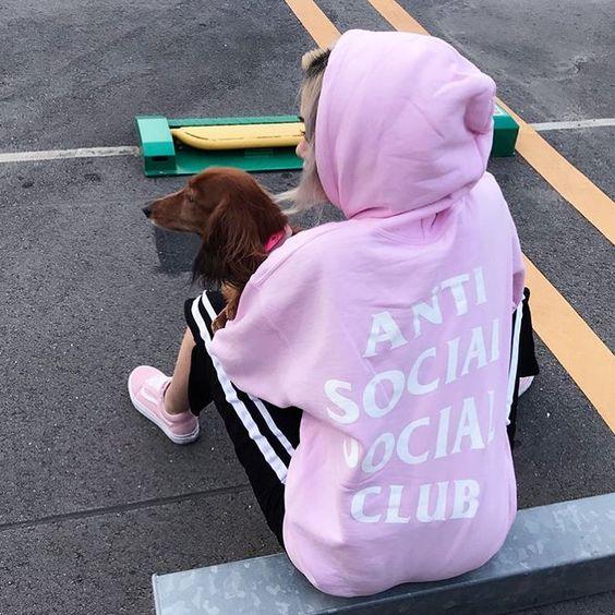 anti social social club卫衣