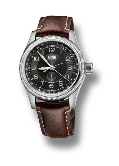 豪利时戴高乐号限量版腕表, 由豪利时与戴高乐号官员共同设计。表盘印有航母的标志,秒针涂有法国红白蓝三色