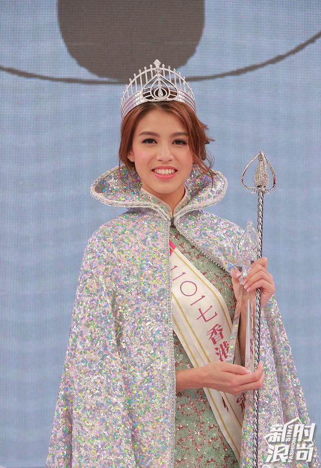 2017香港小姐雷庄儿