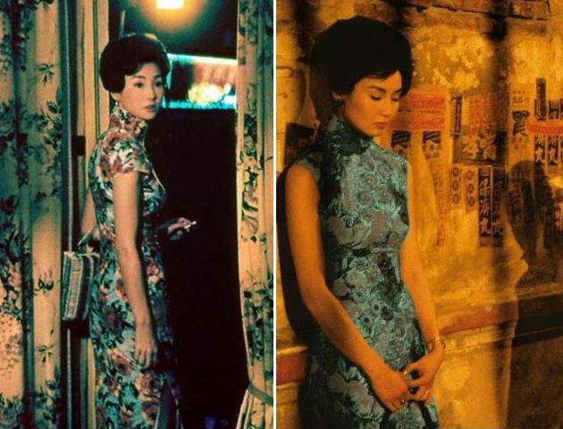 张曼玉旗袍造型