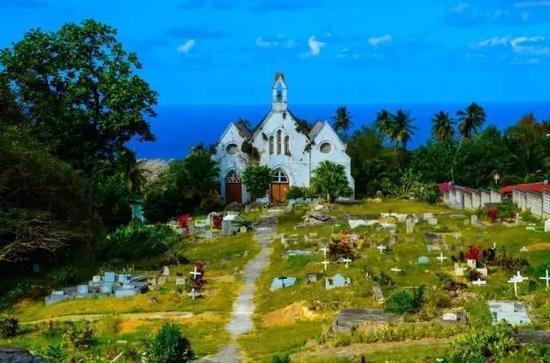 ▲Parish Church墓地
