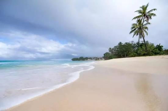 ▲沙质细腻、风平浪静的Dover Beach