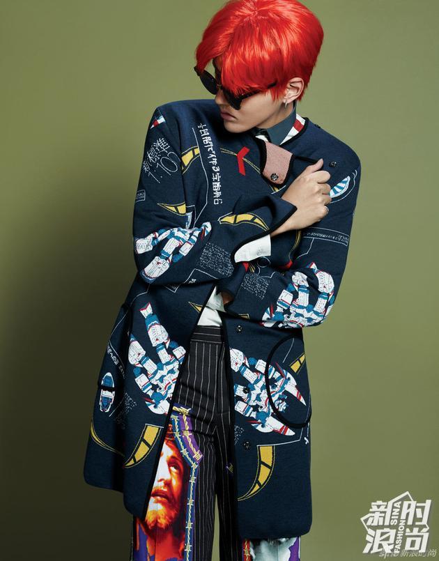 专题 时尚美发    在最新的专辑《6》的mv中,吴亦凡梳起了脏辫,但是
