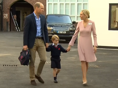 羞涩的乔治小王子开学啦