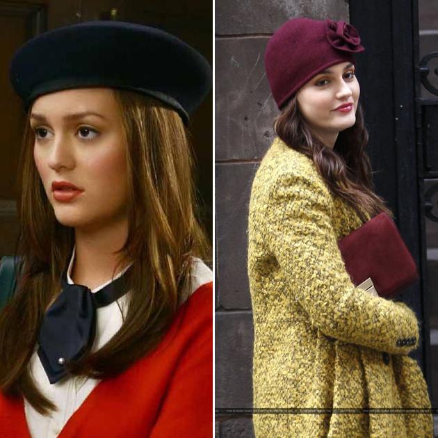 Blair的帽子造型