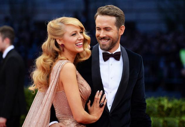 Blake Lively与老公Ryan Reynolds