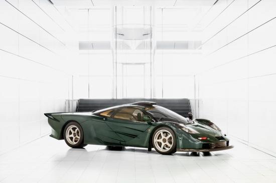 """从前:1997年迈凯伦F1 XP GT""""longtail""""车型"""