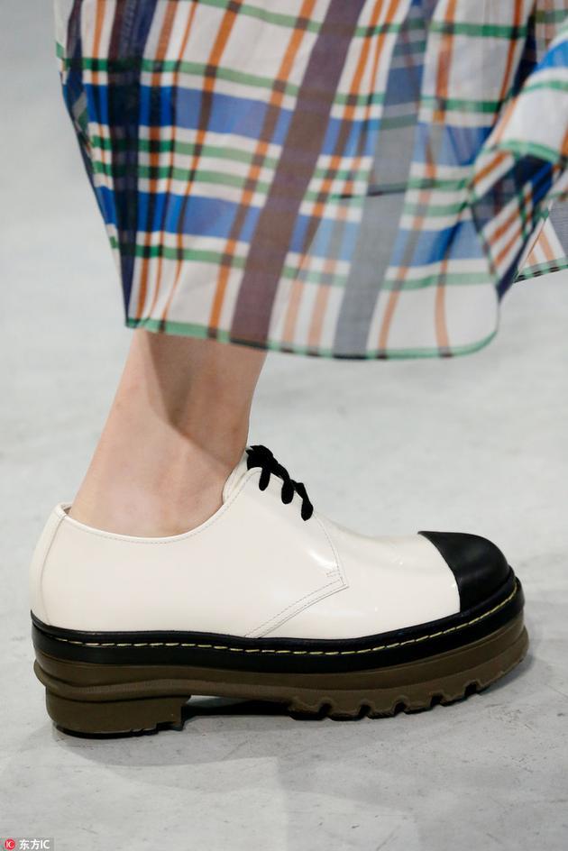 marni厚底鞋