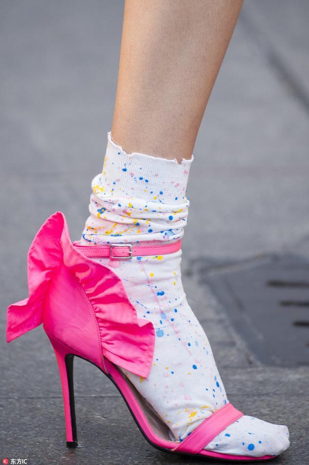MSGM的彩色袜子