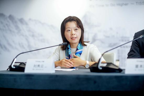 天猫服饰事业群总裁刘秀云女士致辞