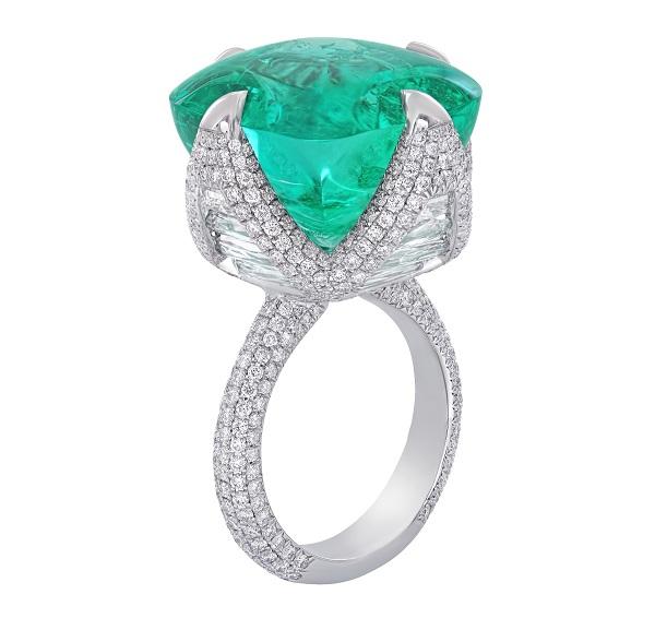 NIRAV MODI妮华莫迪Maharani祖母绿宝石戒指