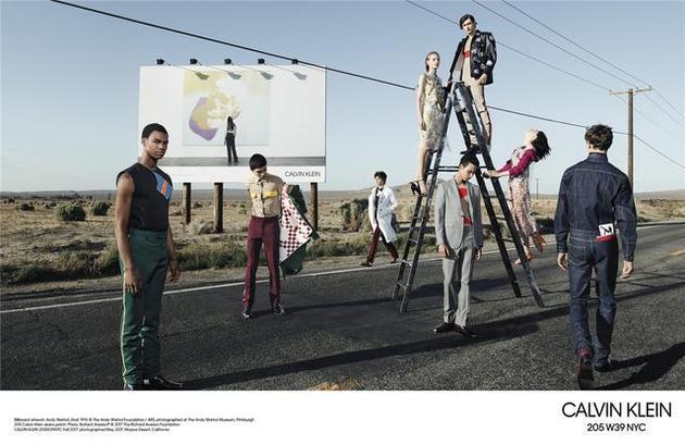 Calvin Klein 205W39NYC的时尚大片