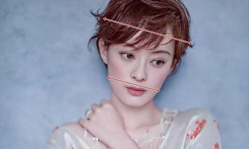 为什么有的女明星剪短发好看有的不?