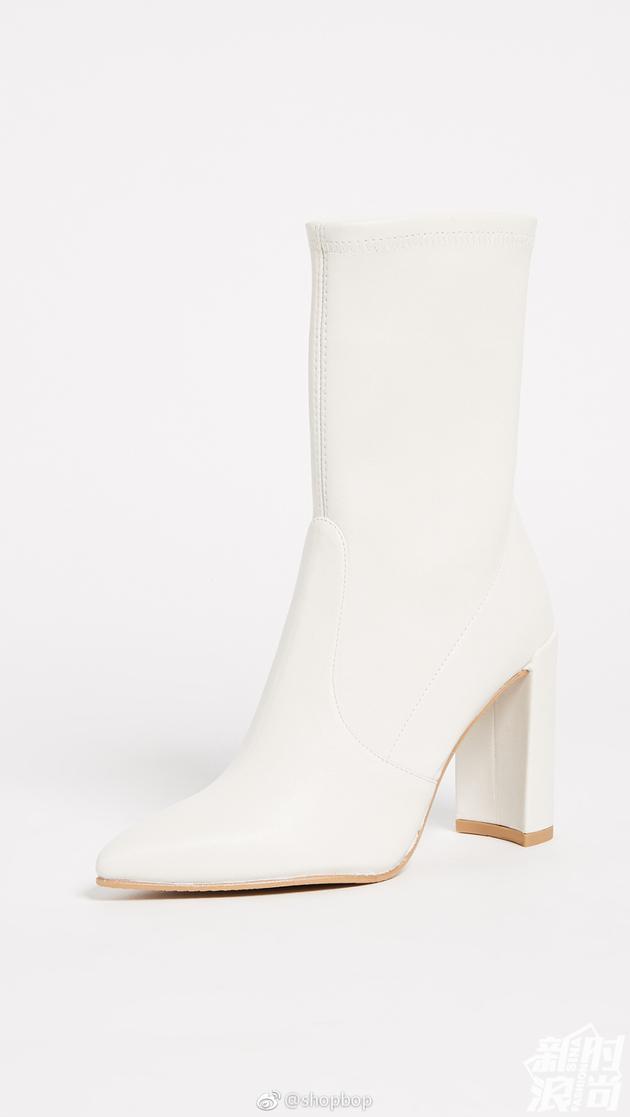 Stuart Weitzman白色短靴