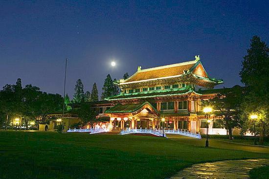钓鱼台国宾馆夜景(图片来源:网络)
