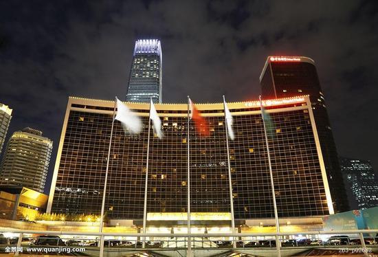 中国大饭店外景(图片来源:全景网)
