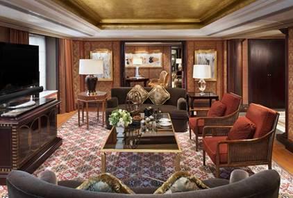 总统套房内景(图片来源:酒店官网)